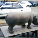 Carvers Stable Hippo sculpture
