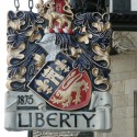 Carvers Stable Liberty of London sign