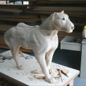 Carvers Stable Tiger sculpture