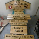 Carvers Stable Workshop and house signs