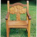 Carvers Stable memorial chair