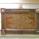 Carvers Stable memorial plaque